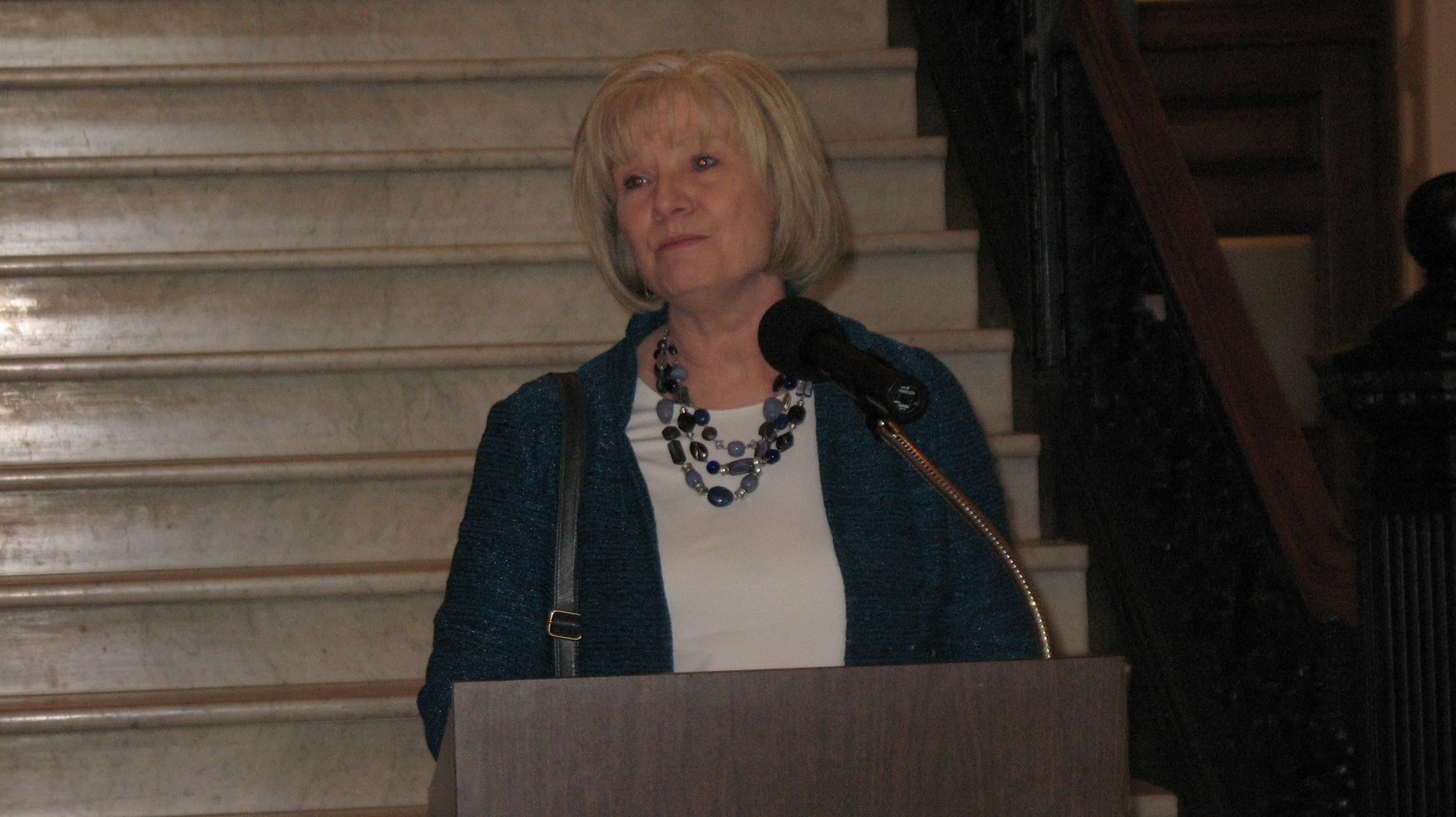 Representative Linda Sanborn, MD.