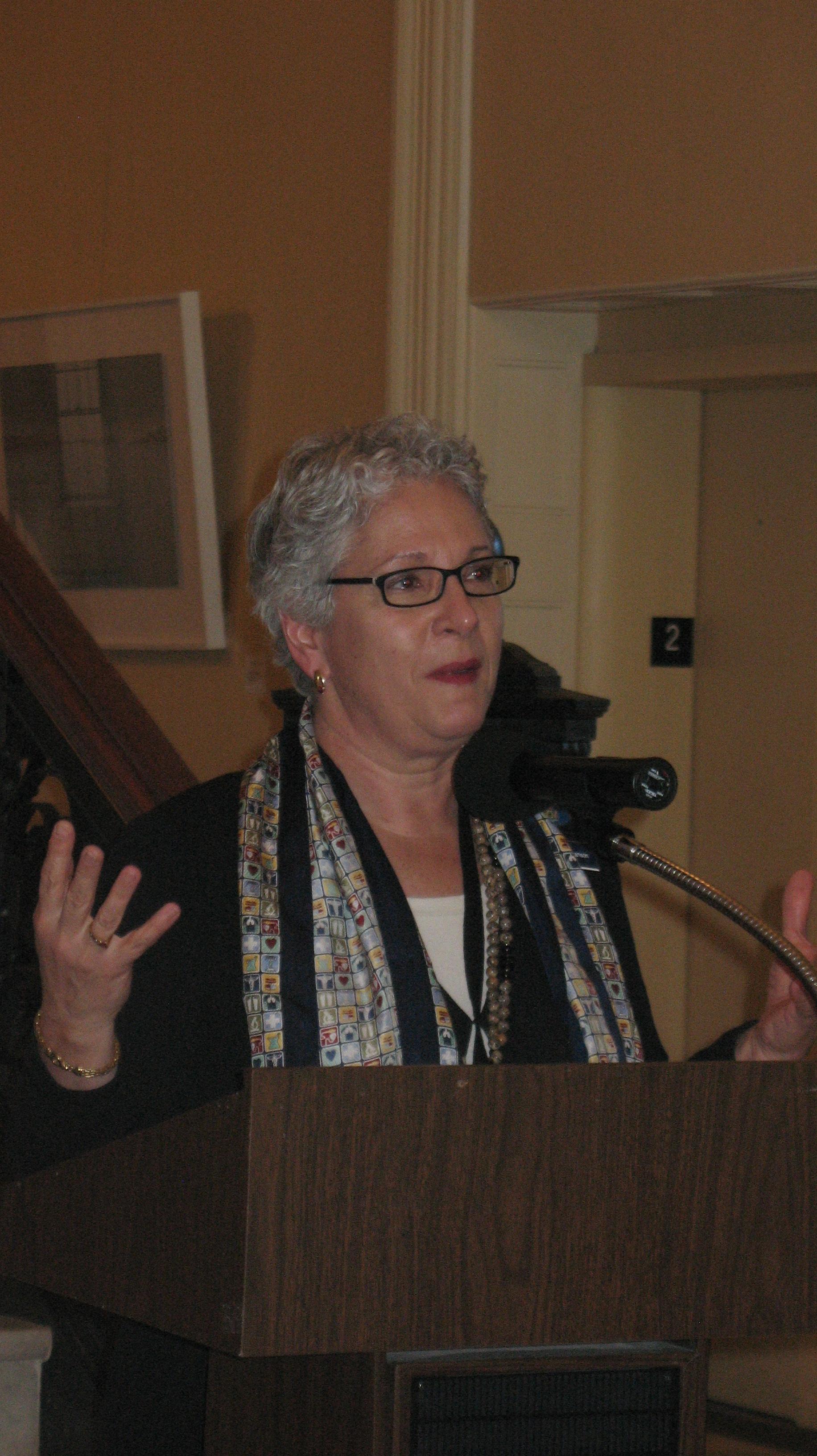 Representative Patricia Hymanson, MD